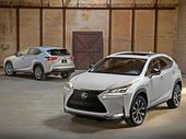 THE new Lexus NX sports utility vehicle will have wireless charging for smartphones and portable music players.